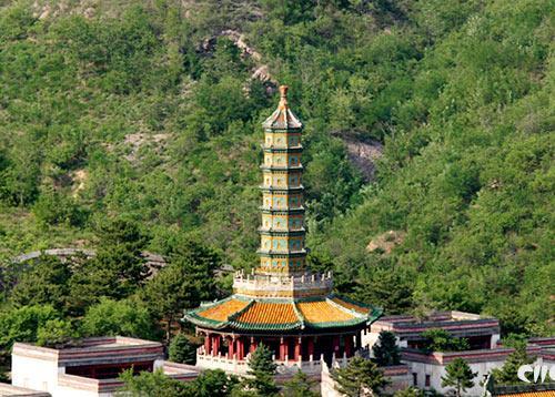 须弥福寿之庙琉璃塔